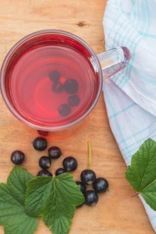 Blackcurrant & Honey Tea