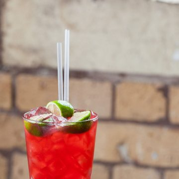 Cranberry & Lime Soda