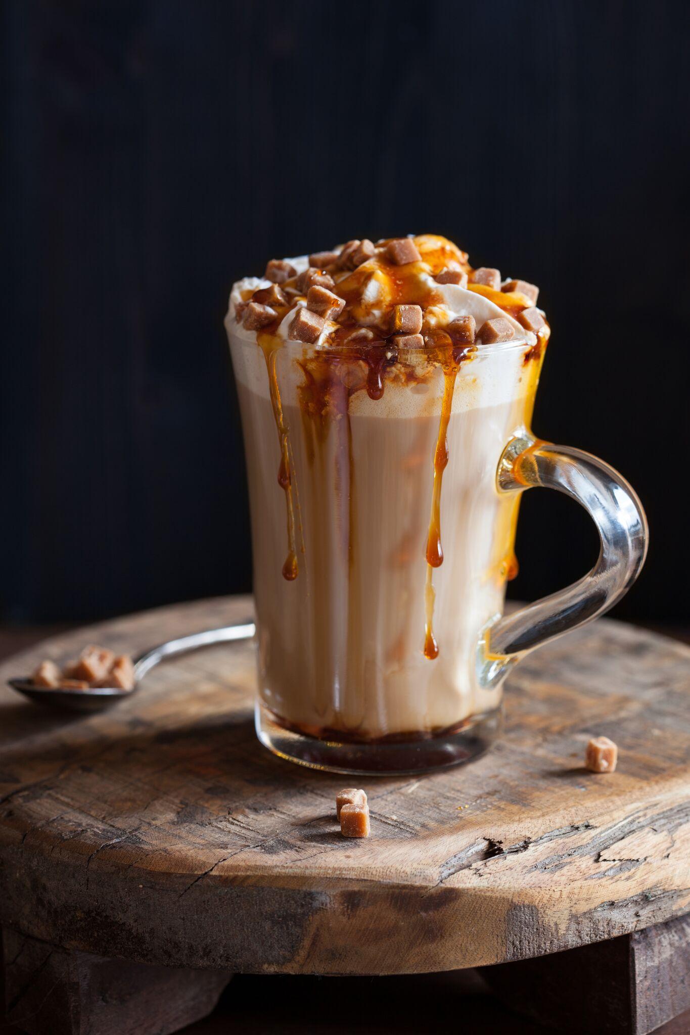 Caramel Coffee Ice Crean
