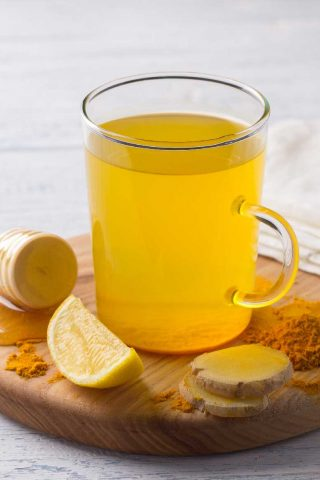 Turmeric Lemon Ginger & Honey Fruit Infusion