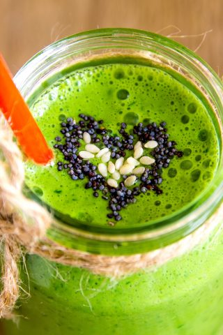 Green Feijoa Smoothie