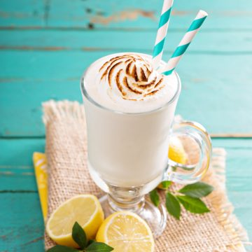 Lemon Meringue Frappe