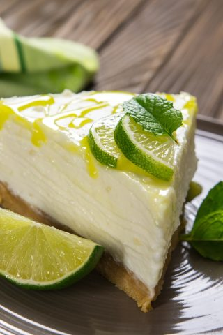 Tahitian Lime Cheesecake