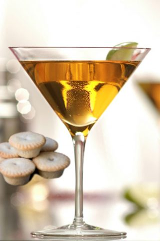 Fruit Mince Pie Martini