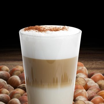 Hazelnut Almond Latte
