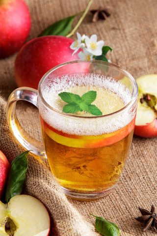 Apple & Jasmine Soda
