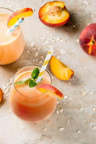 Peach & Black Tea Shake