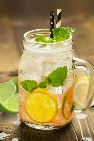 Lemonade, Tahitian Lime & Bitters