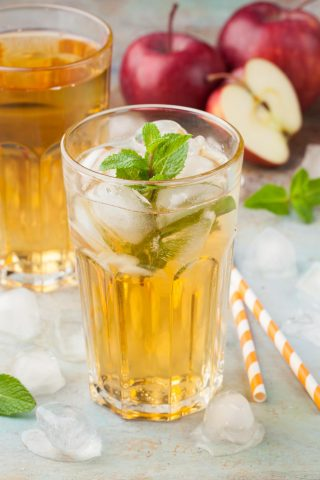 Apple Mint Iced Tea