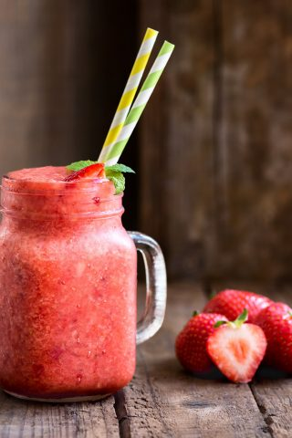 Strawberry Citrus Slushy