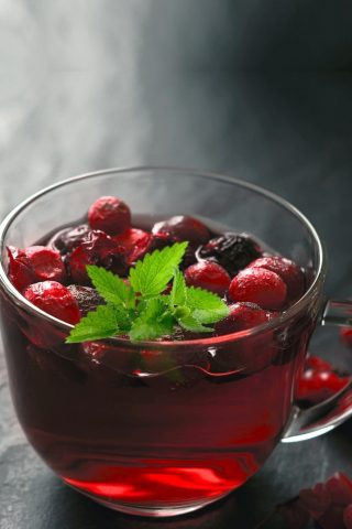Blackcurrant & Mint Infusion