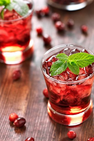 Cranberry & Lime Sakerinha