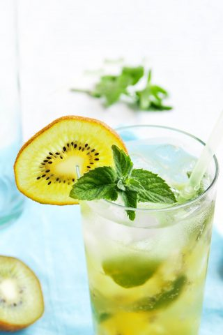 Gold Kiwi & Mint Iced Tea