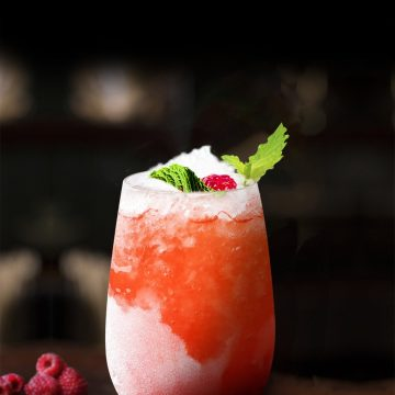 Raspberry & Lemon Daiquiri (non-alcoholic)