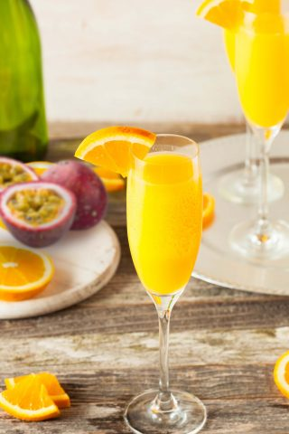 Virgin Passionfruit Mimosa