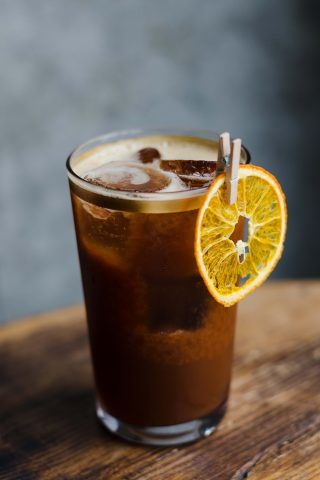 Orange Black Tea Cold Brew