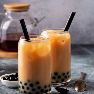 Earl Grey Bubble Tea