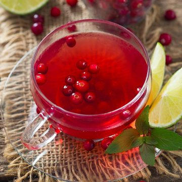 Cranberry & Lime Infusion