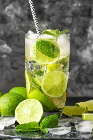 Tahitian Lime Mint Soda
