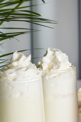 White Chocolate Milkshake