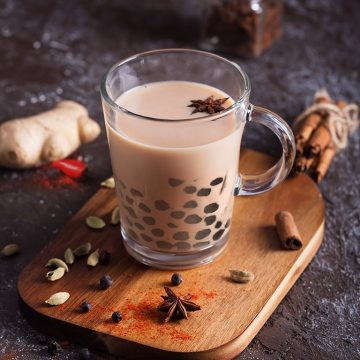 Chai (Spiced Notes) Bubble Tea