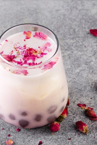 Rose Bubble Tea