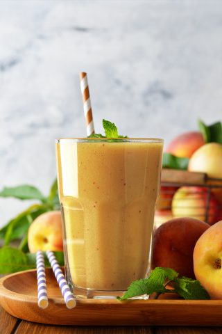 Triple Peach Smoothie