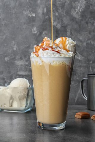 Butterscotch Frappe