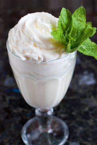 Wild Mint Frappe