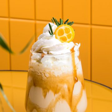 Flamed Orange Frappe