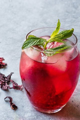 Hibiscus Ginger & Manuka Honey Soda