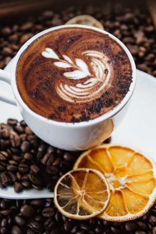 Flamed Orange Mochaccino