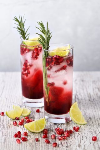 Pomegranate (Grenadine) Iced Tea