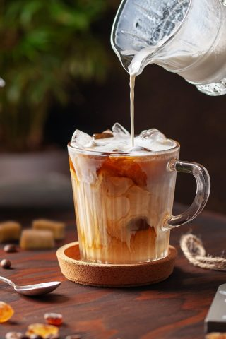 Butterscotch Iced Coffee