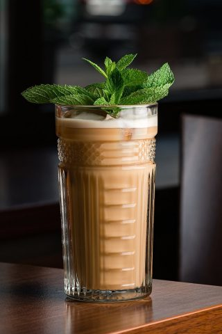 Wild Peppermint Iced Coffee